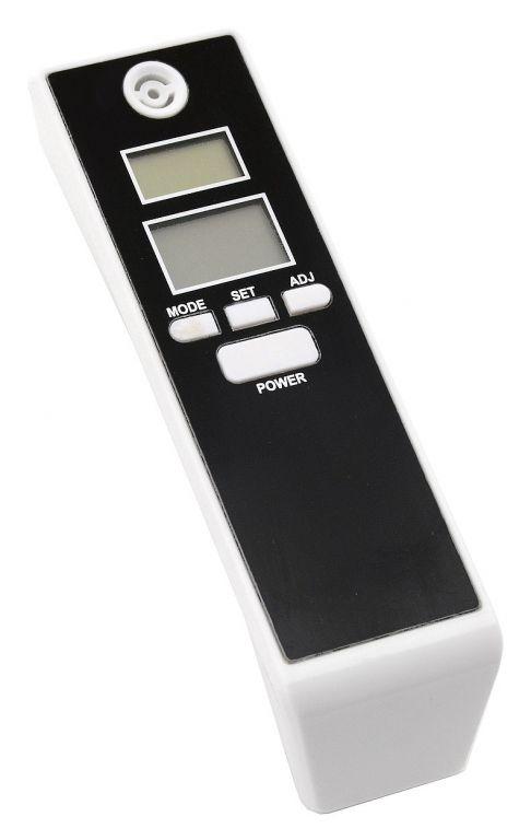 Digitální dechový alkohol tester - černý/bílý
