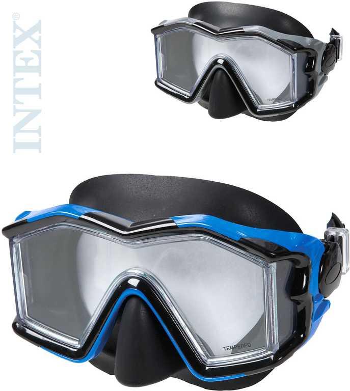 INTEX Explorer Silicon SR brýle potapěčské 14+ různé barvy do vody 55982