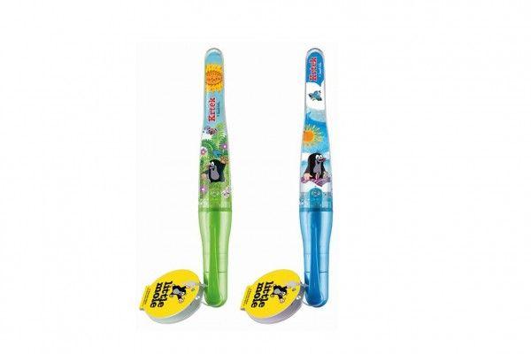 Tužka/pero svítící Krtek 2 barvy