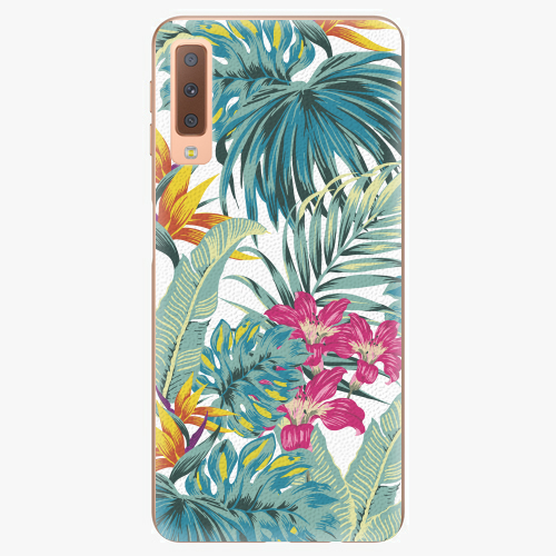 Plastový kryt iSaprio - Tropical White 03 - Samsung Galaxy A7 (2018)