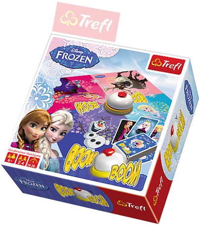 TREFL Hra karetní Boom Boom Frozen (Ledové Království) *SPOLEČENSKÉ HRY*