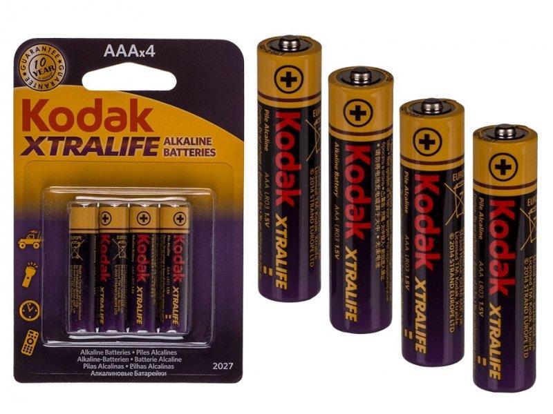 Tužková baterie Kodak Xtralife AAA 4ks
