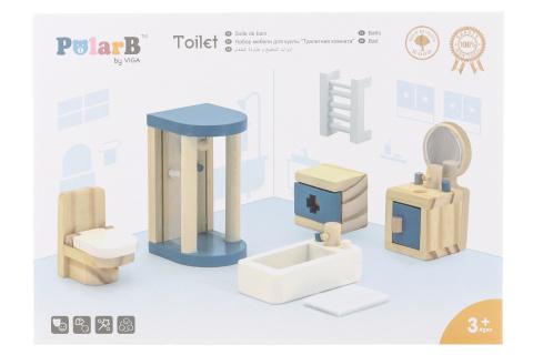 Dřevěná koupelna