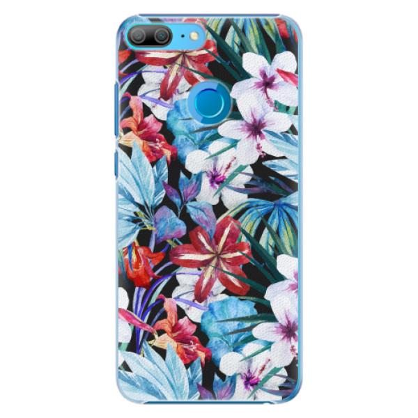 Plastové pouzdro iSaprio - Tropical Flowers 05 - Huawei Honor 9 Lite