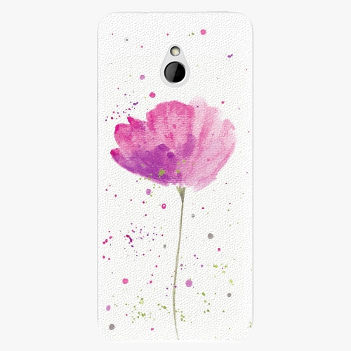 Plastový kryt iSaprio - Poppies - HTC One Mini