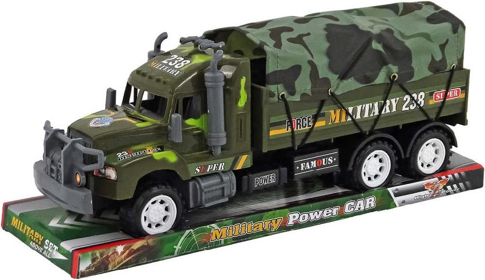 Auto vojenské na setrvačník