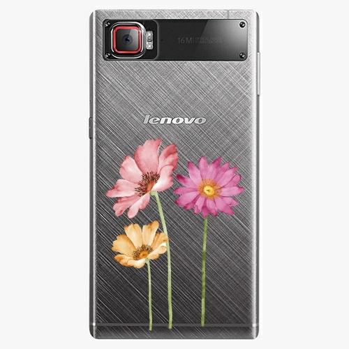 Plastový kryt iSaprio - Three Flowers - Lenovo Z2 Pro