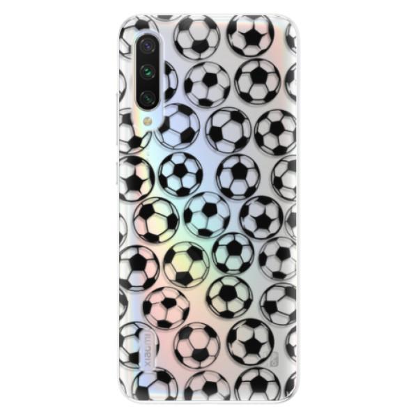 Odolné silikonové pouzdro iSaprio - Football pattern - black - Xiaomi Mi A3