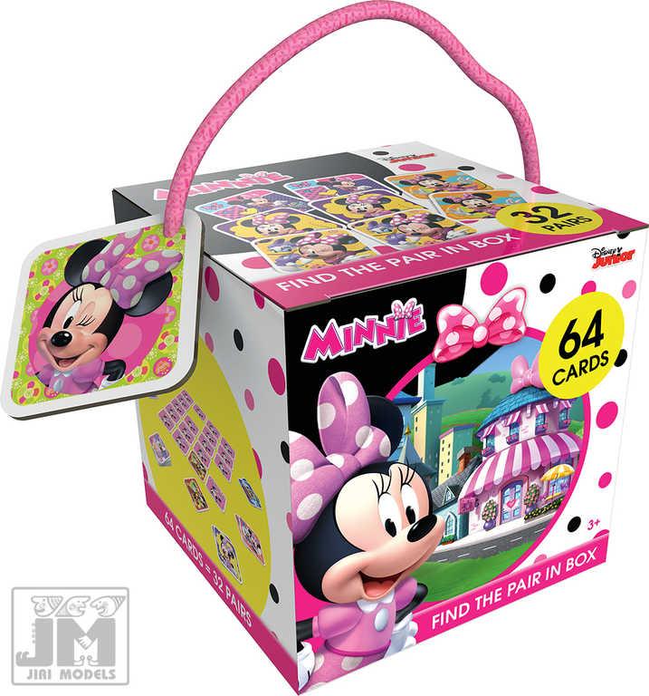 JIRI MODELS Pexeso na cesty Minnie Mouse