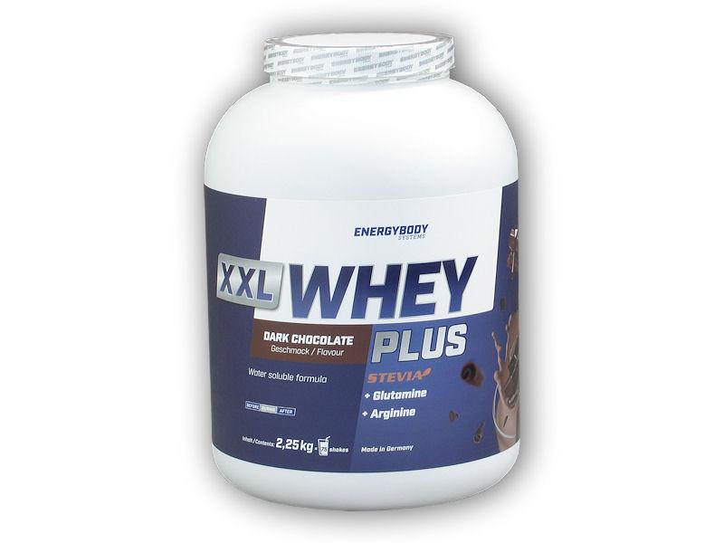 XXL Whey Plus Protein 2250g-cokolada