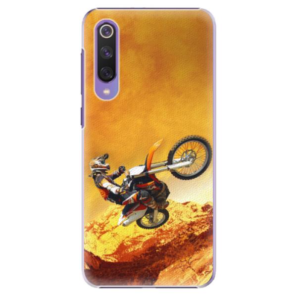 Plastové pouzdro iSaprio - Motocross - Xiaomi Mi 9 SE