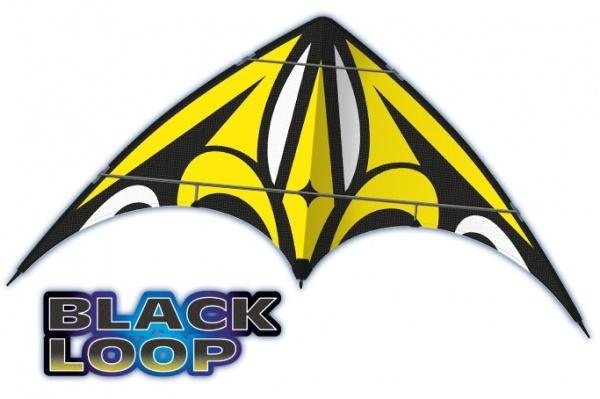 BLACK LOOP, 160x80 cm