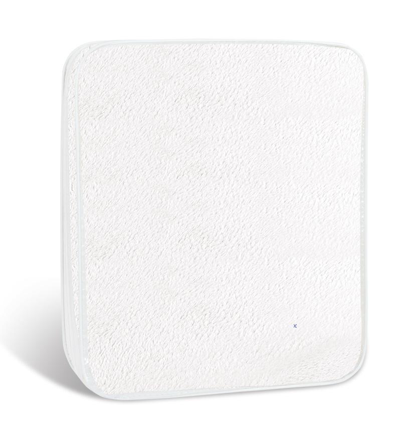 Prostěradlo mikroflanel 90x200cm bílé