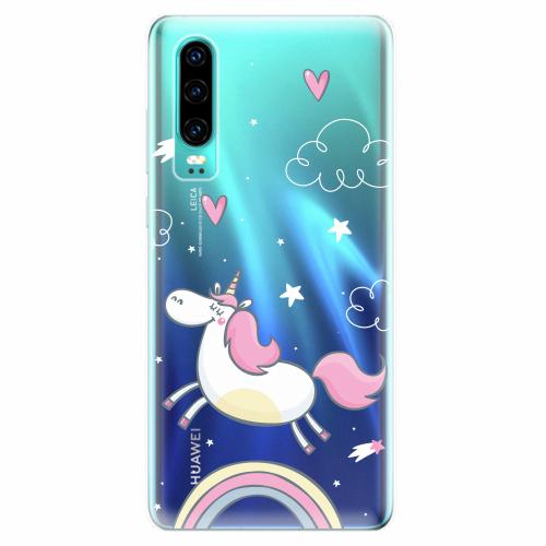 Silikonové pouzdro iSaprio - Unicorn 01 - Huawei P30