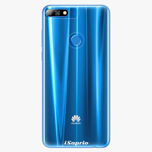 Silikonové pouzdro iSaprio - 4Pure - průhledný matný - Huawei Y7 Prime 2018
