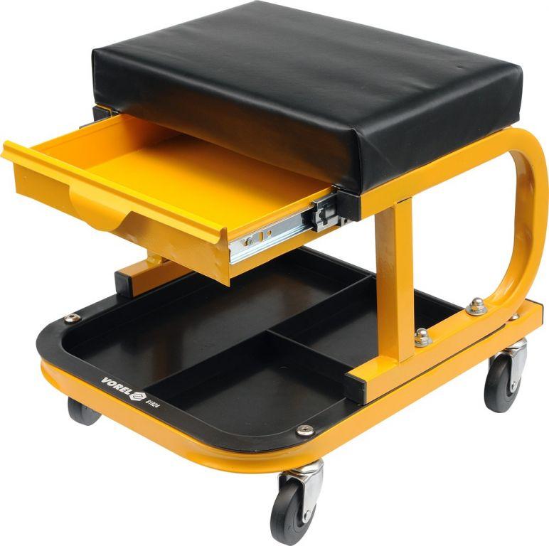 Sedačka pojízdná s organizérem - 240 x 380 x 50 mm