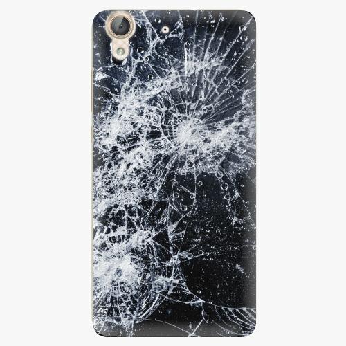 Plastový kryt iSaprio - Cracked - Huawei Y6 II