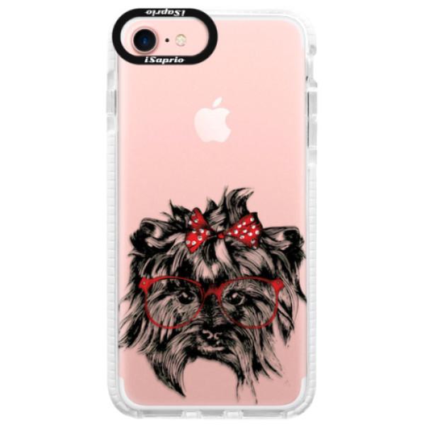 Silikonové pouzdro Bumper iSaprio - Dog 03 - iPhone 7