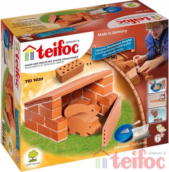 TEIFOC Domek Pigs 1020 *Stavebnice cihly s maltou*