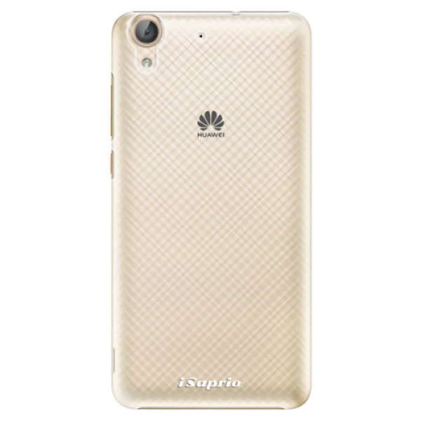 Plastové pouzdro iSaprio - 4Pure - mléčný bez potisku - Huawei Y6 II