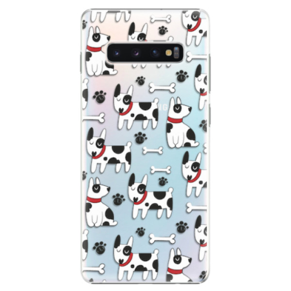 Plastové pouzdro iSaprio - Dog 02 - Samsung Galaxy S10+