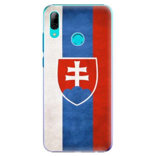 Plastové pouzdro iSaprio - Slovakia Flag - Huawei P Smart 2019