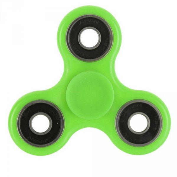 Fidget spinner - antistresová hračka - Zelená
