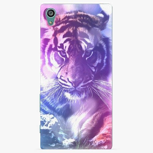 Plastový kryt iSaprio - Purple Tiger - Sony Xperia Z5
