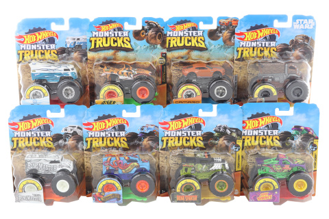 Hot Wheels Monster trucks kaskadérské kousky FYJ44 TV 1.3.- 30.6