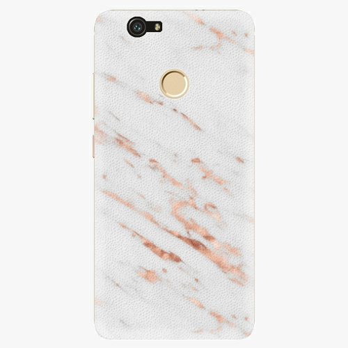 Plastový kryt iSaprio - Rose Gold Marble - Huawei Nova