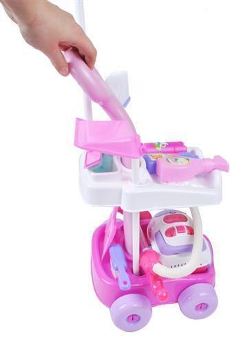 Dětský uklízecí vozík