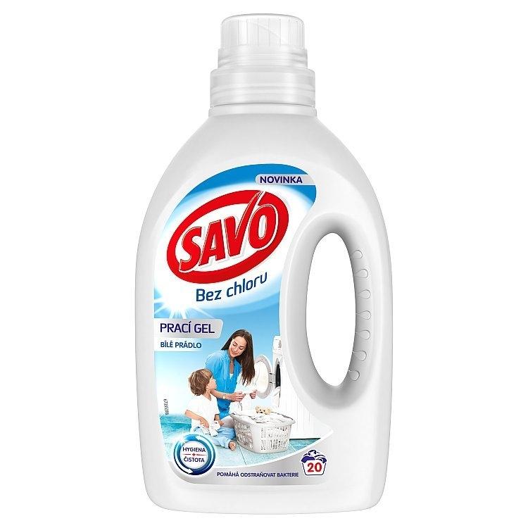 Bez chloru prací gel na bílé prádlo 1 l (20 praní)