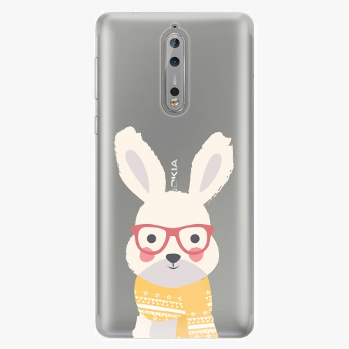 Plastový kryt iSaprio - Smart Rabbit - Nokia 8