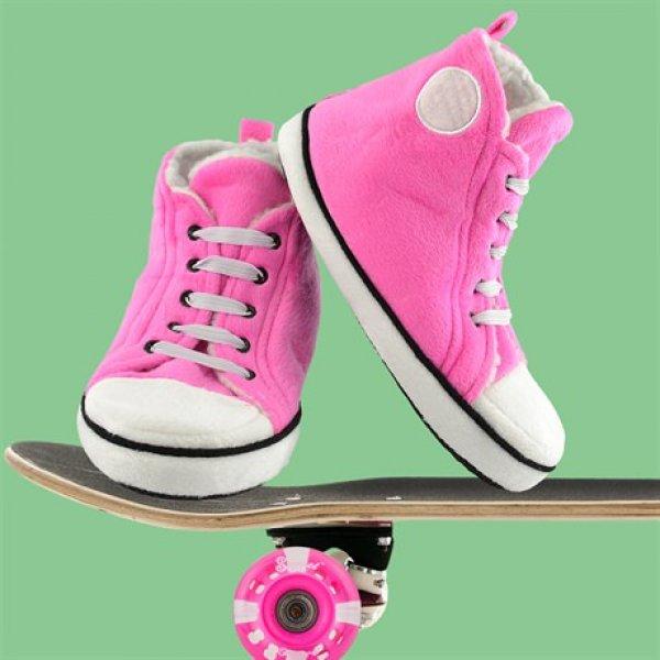 Bačkory Hi-Top - Růžové dámské
