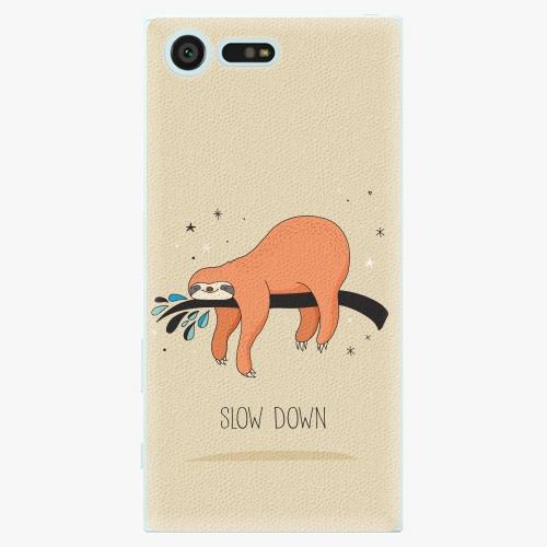 Plastový kryt iSaprio - Slow Down - Sony Xperia X Compact