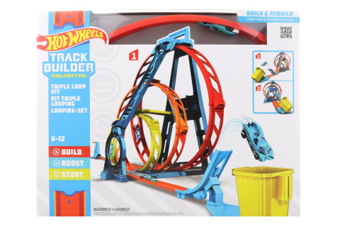 Hot Wheels Track builder trojitá smyčka GLC96 TV 1.3.-30.6.2021