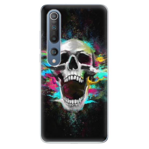 Odolné silikonové pouzdro iSaprio - Skull in Colors - Xiaomi Mi 10 / Mi 10 Pro