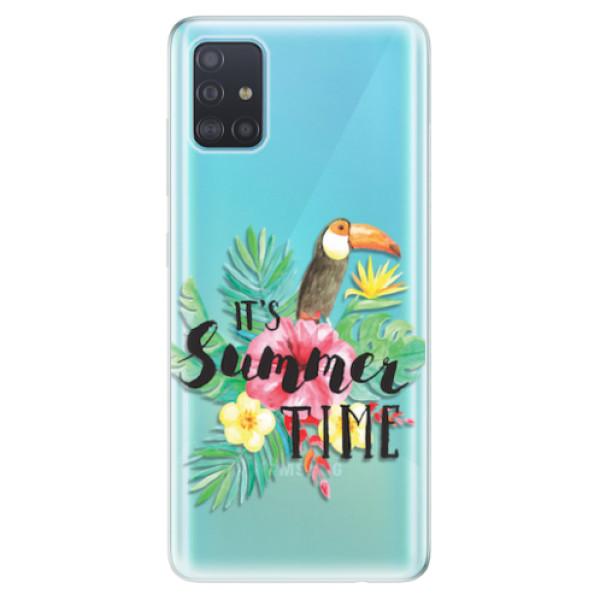 Odolné silikonové pouzdro iSaprio - Summer Time - Samsung Galaxy A51