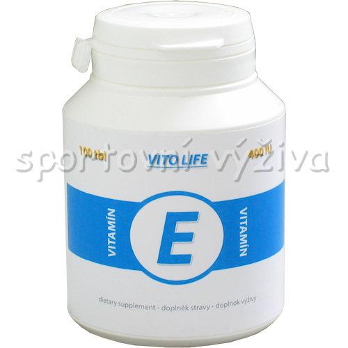Vitamín E 100 kapslí