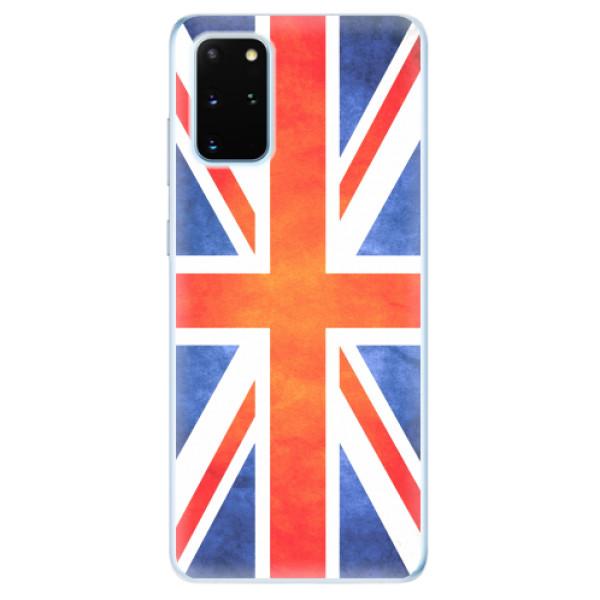 Odolné silikonové pouzdro iSaprio - UK Flag - Samsung Galaxy S20+