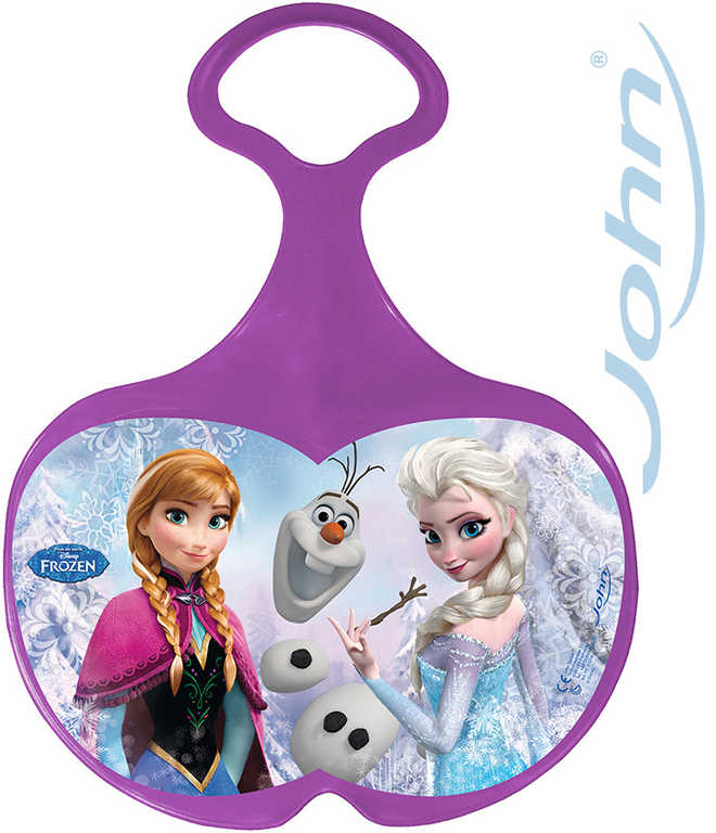 JOHN Kluzák na sníh fialový Frozen (Ledové Království) pro holčičky