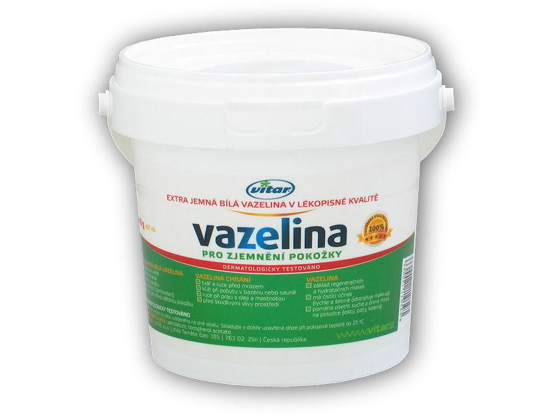 Vitar Vazelína jemná bílá 400g