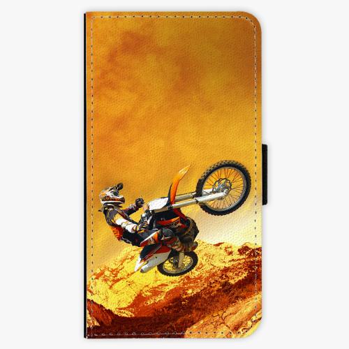 Flipové pouzdro iSaprio - Motocross - Samsung Galaxy A3