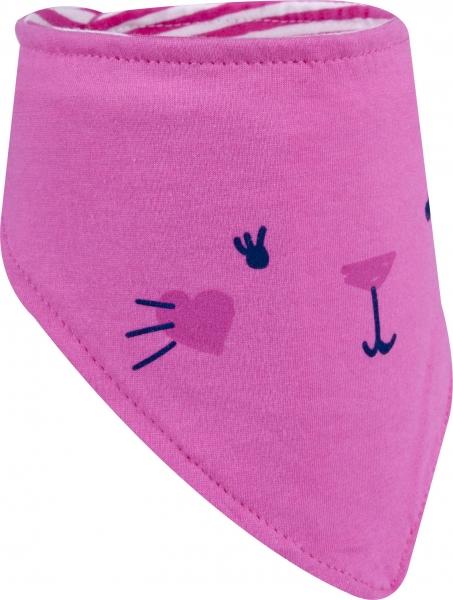 Dětský šátek na krk YO ! - růžová
