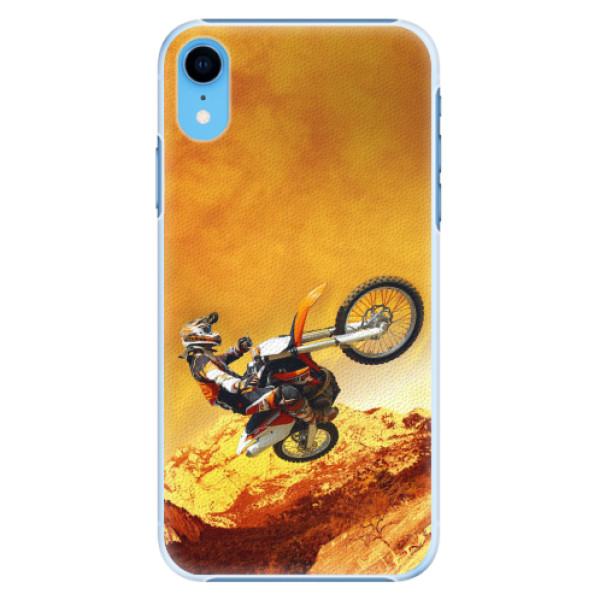 Plastové pouzdro iSaprio - Motocross - iPhone XR