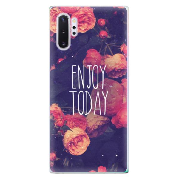 Odolné silikonové pouzdro iSaprio - Enjoy Today - Samsung Galaxy Note 10+