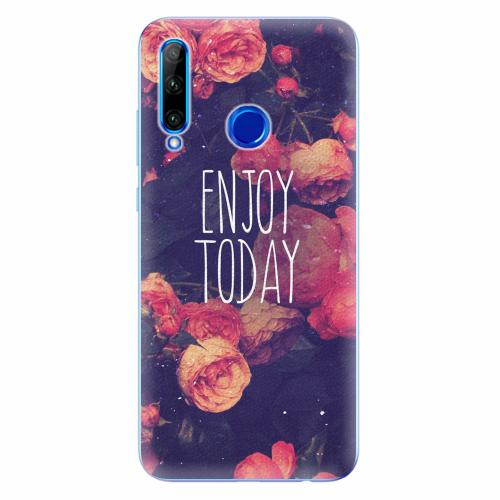 Silikonové pouzdro iSaprio - Enjoy Today - Huawei Honor 20 Lite