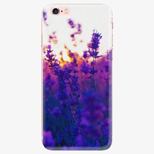 Silikonové pouzdro iSaprio - Lavender Field - iPhone 7