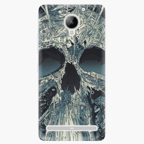 Plastový kryt iSaprio - Abstract Skull - Lenovo C2