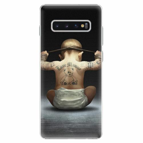 Plastový kryt iSaprio - Crazy Baby - Samsung Galaxy S10+